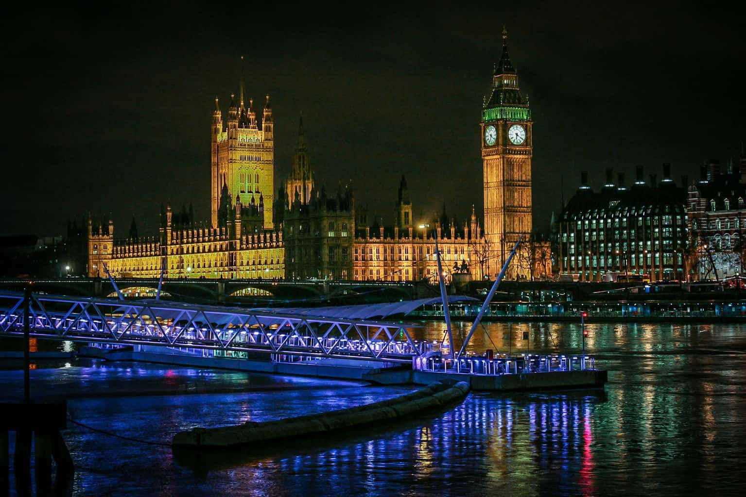 House of Parliament and Big Ben by Rick McEvoy London Photographer
