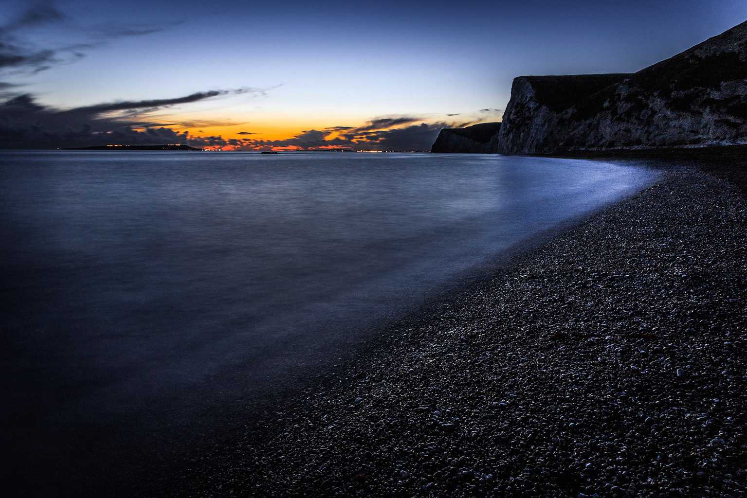 Picture of the Jurassic Coast in Dorset by Rick McEvoy