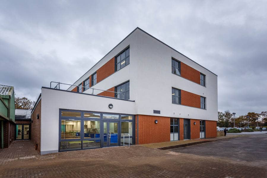 Construction photography in Hampshire by Rick McEvoy