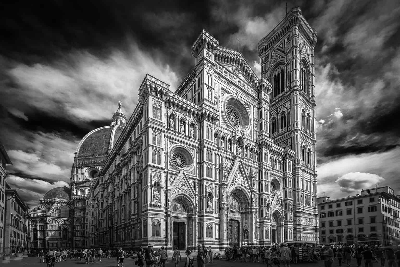 Duomo. Florence. A picture of stunning architecture in Italy.