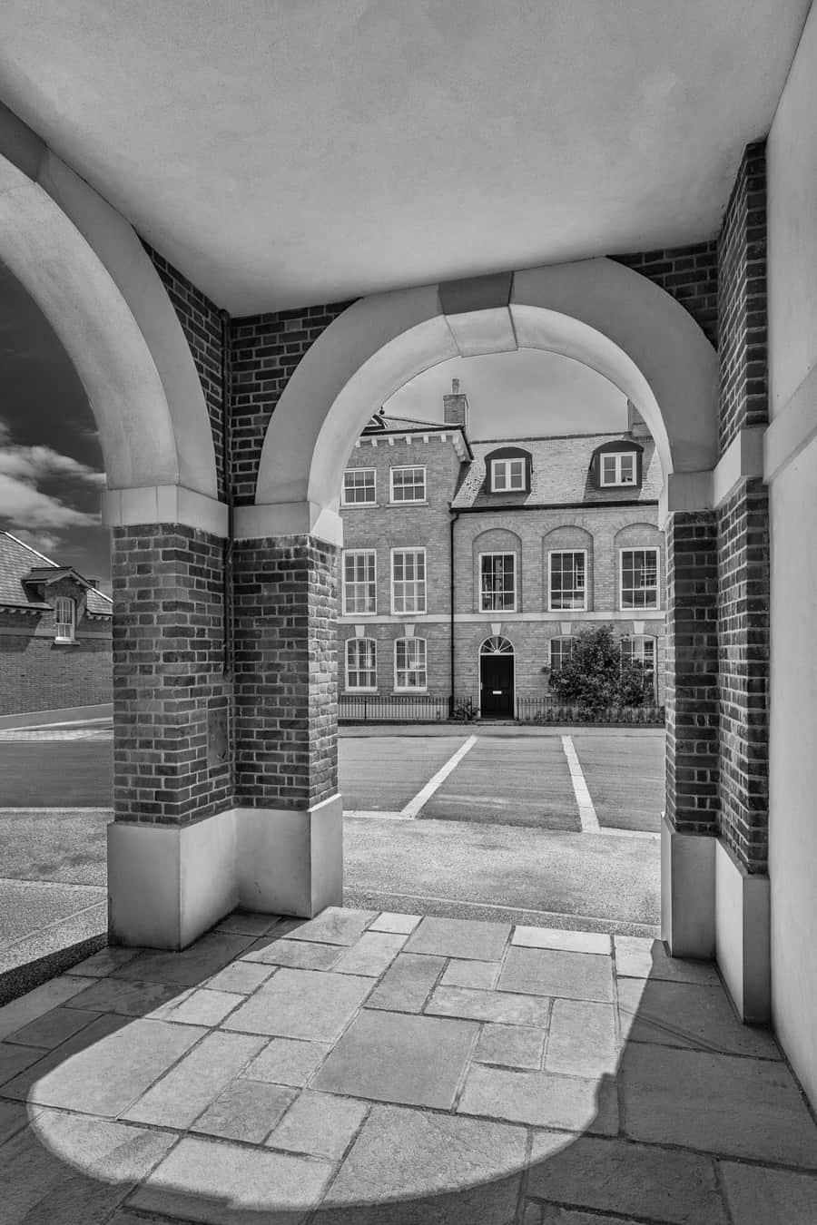 Architecture in Poundbury, Dorset.