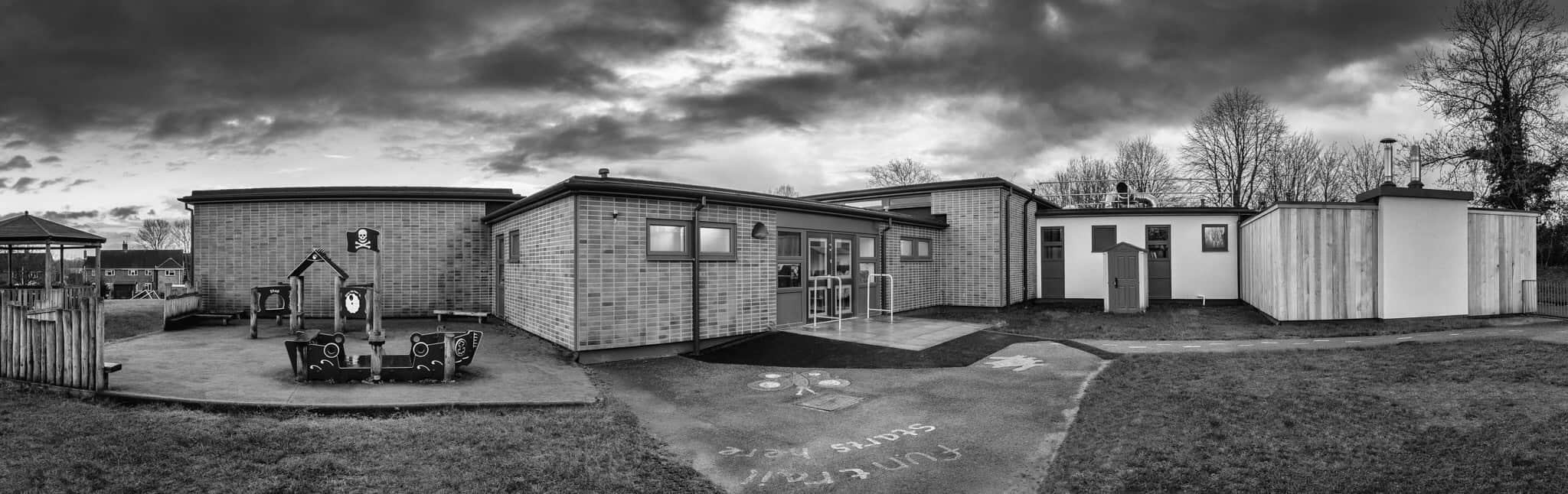 Barton Stacey School panoramic image