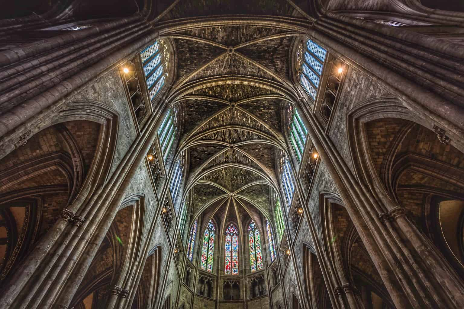Bordeaux Cathedral by Rick McEvoy travel photographer