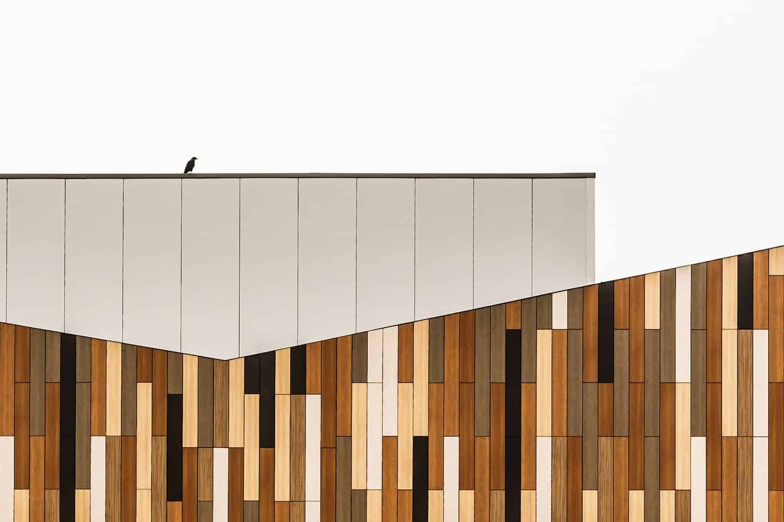 Jigsaw Building at the Royal Bournemouth and Christchurch Hospital by architectural photographer Rick McEvoy