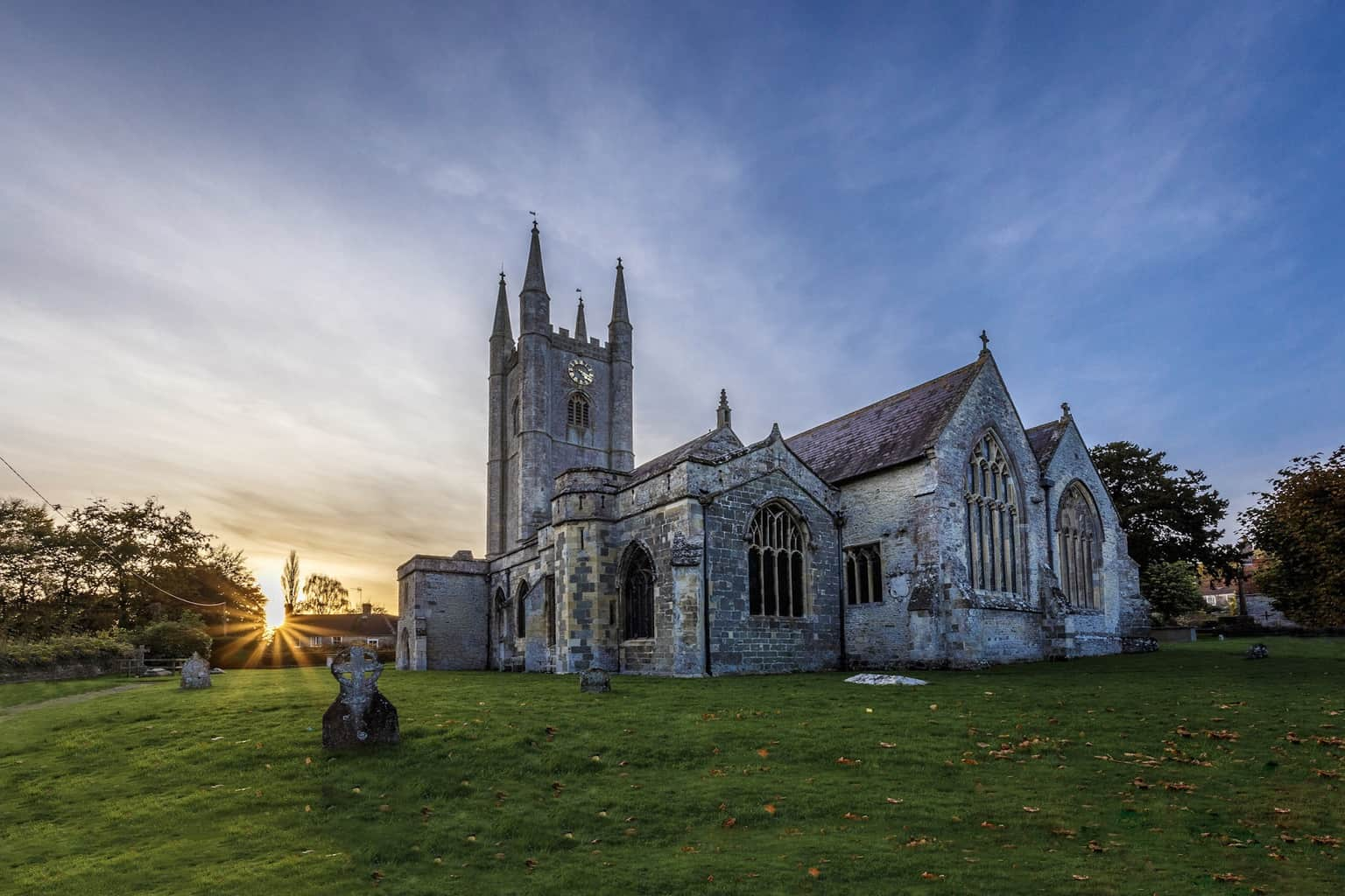St Michael's Church in Mere by Rick McEvoy Architectural Photographer in Wiltshire