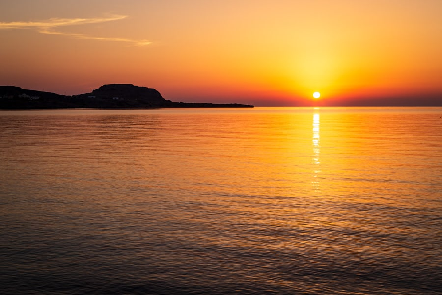 Sunrise in Rhodes - Travel Photography by Rick McEvoy