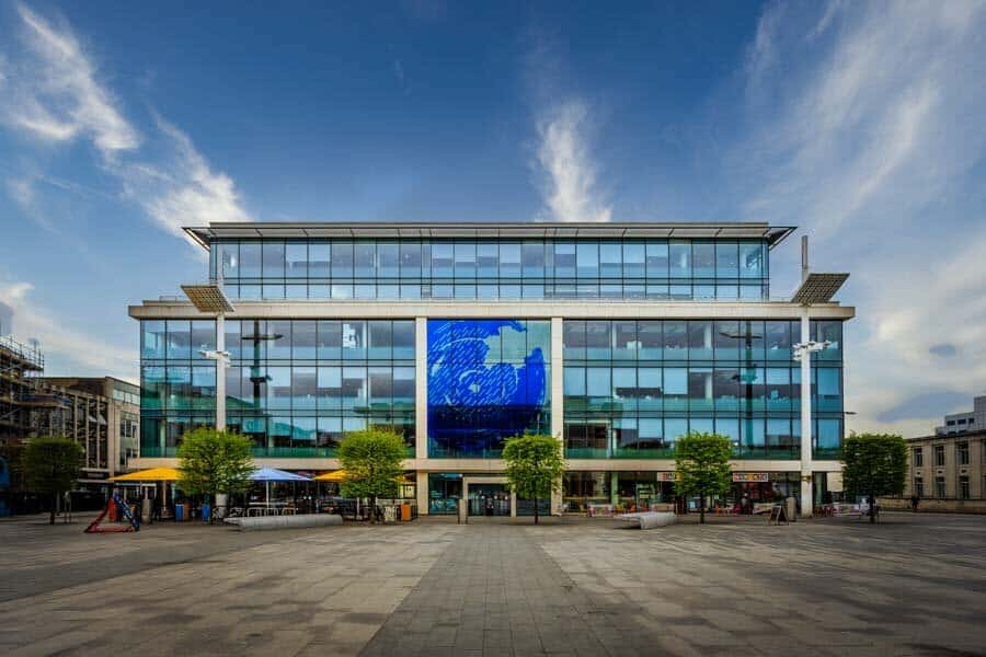 Guildhall Square in Southampton by Rick McEvoy Photography
