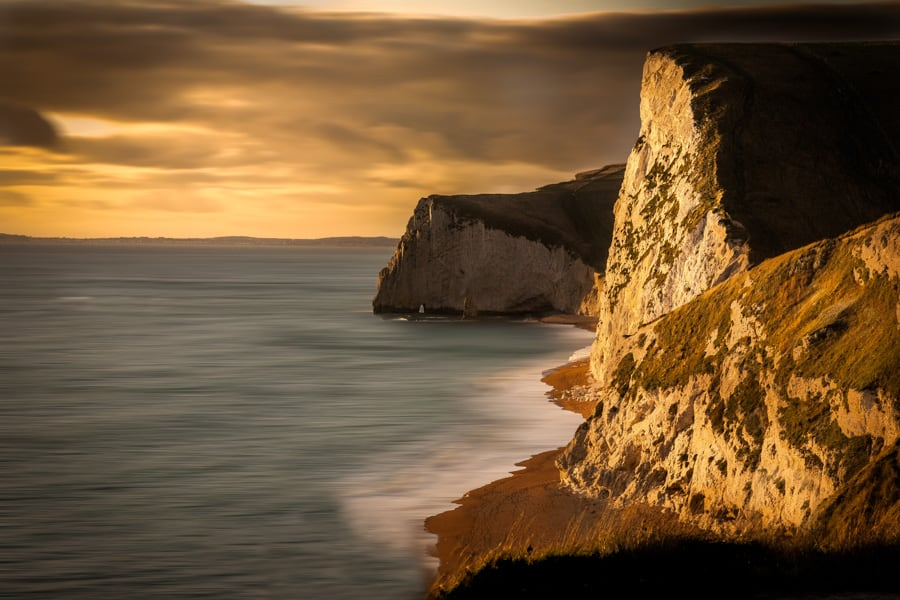 Bats Head viewed from above Durdle Door on the Dorset Jurassic C
