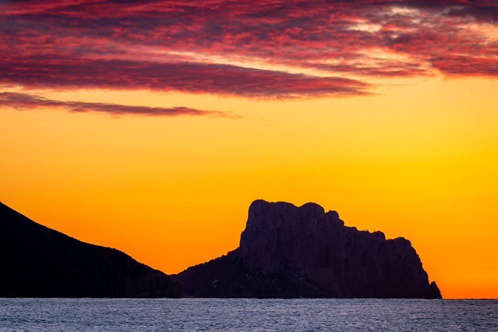 Sunrise in Altea by Rick McEvoy Travel Photographer