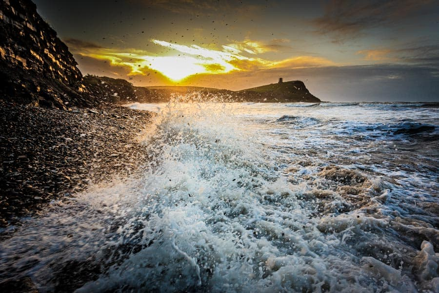 Kimmeridge Bay at sunrise
