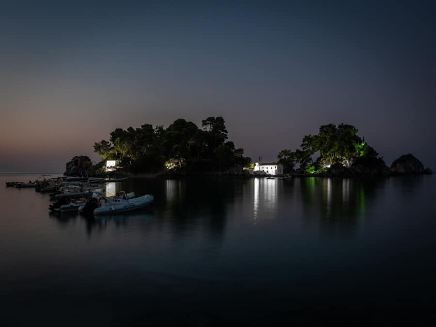 Panagia Chapel Parga photographed before sunrise.tif