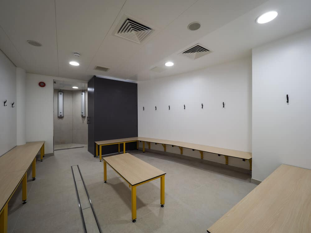 University of Southampton B18 Changing Rooms